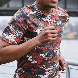 T-shirt by Nike Running retro in red camo